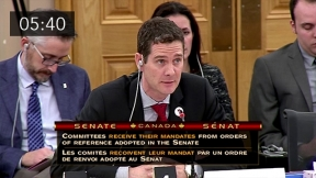 Mortgage Professionals Canada Presents at the Senate Commitee Hearing (English)